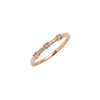 14k gold cognac diamonds ring - LODAGOLD