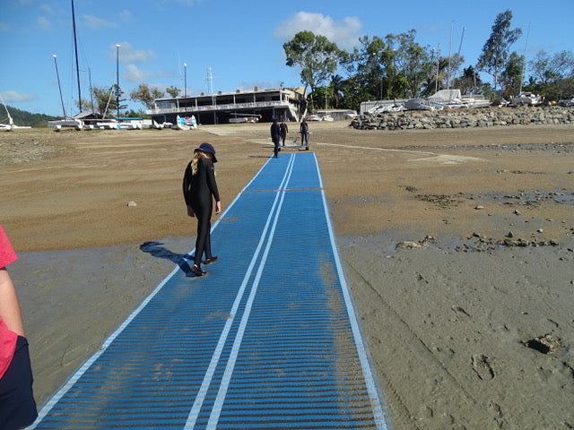 Portable Mobi-Boat Ramp - Boat launching made easy