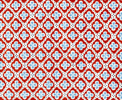 Paniola Multi // Red/Light Blue/Navy
