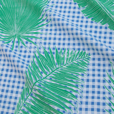 Gingham Jungle // Blue Chip Day