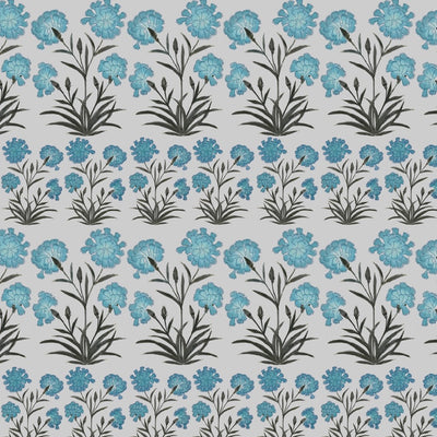 Mughal Meadow Mini // Blue // Oyster