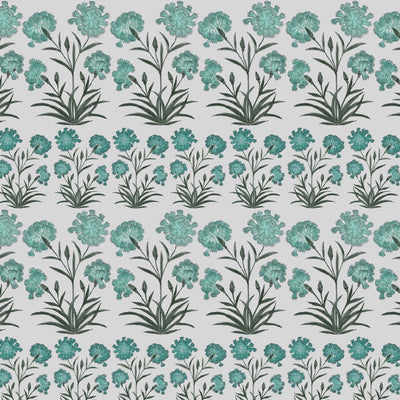 Mughal Meadow Mini // Green // Oyster