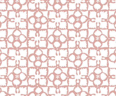 Grandma's Quilt // Pale Pink