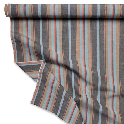 Howland Stripe // Multi Charcoal