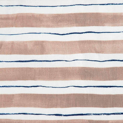 Painted Stripe // Coffee/Blauvelt Blue