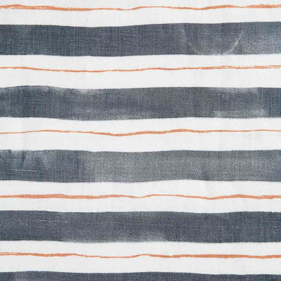 Painted Stripe // Stone Gray/Tangerine