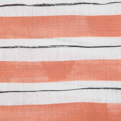 Painted Stripe // Tangerine/Black