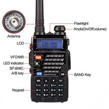 128 Channel Walkie Talkie (SET - VHF-UHF DUAL BAND)