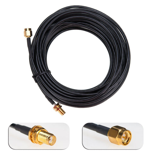 Antenna Extension Cable SMA Male to Female Connector (33ft)