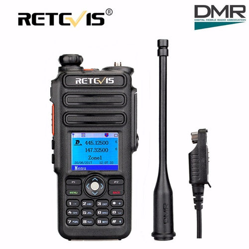 Retevis RT82 Dual Band DMR with GPS