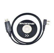 Authentic Baofeng Programming Cable and Software CD