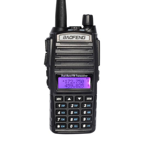 Baofeng UV-82 Dual Band Two-Way Radio 136-174 MHz VHF & 400-520 MHz UHF