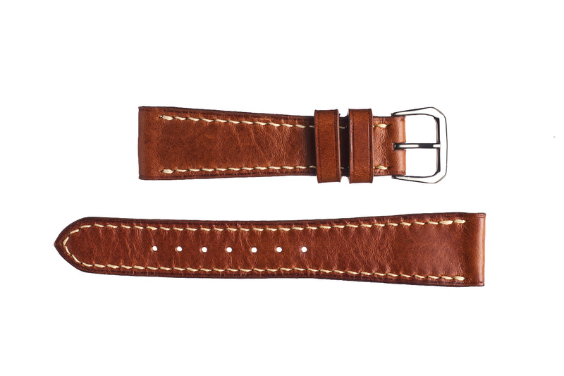 Whiskey Buttero Calfskin Watch Strap - David Lane Design