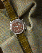 Loden Matte Alligator Watch Strap - David Lane Design