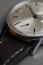 BWC silver sunburst dial and date function - David Lane Design