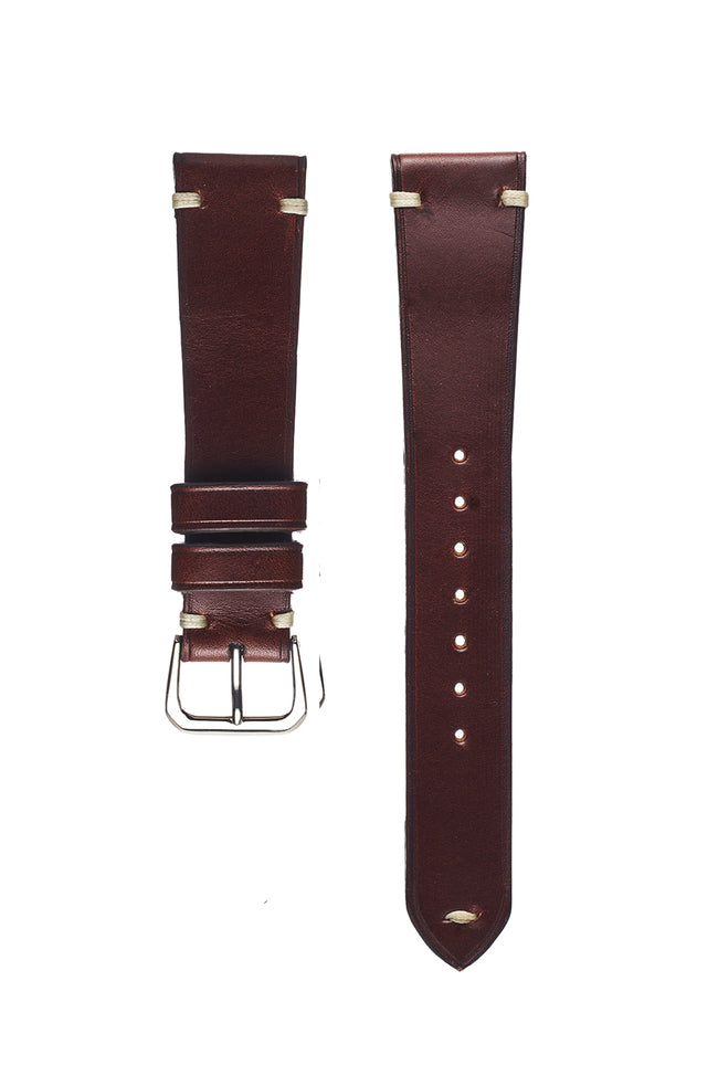Brown Buttero Calfskin Watch Strap