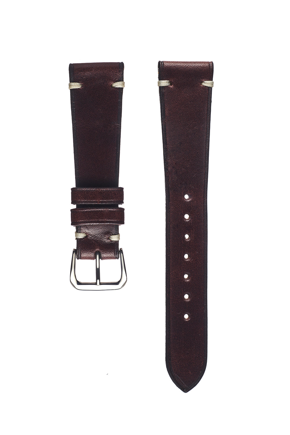 Havana Brown Harness Leather Watch Strap