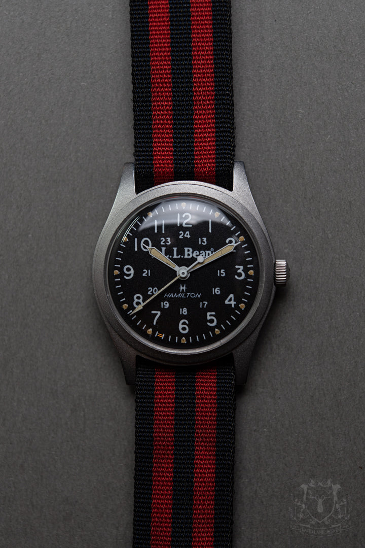 Hamilton for LL Bean Field Watch - David Lane Design