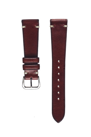 Vintage Brown Goatskin Watch Strap