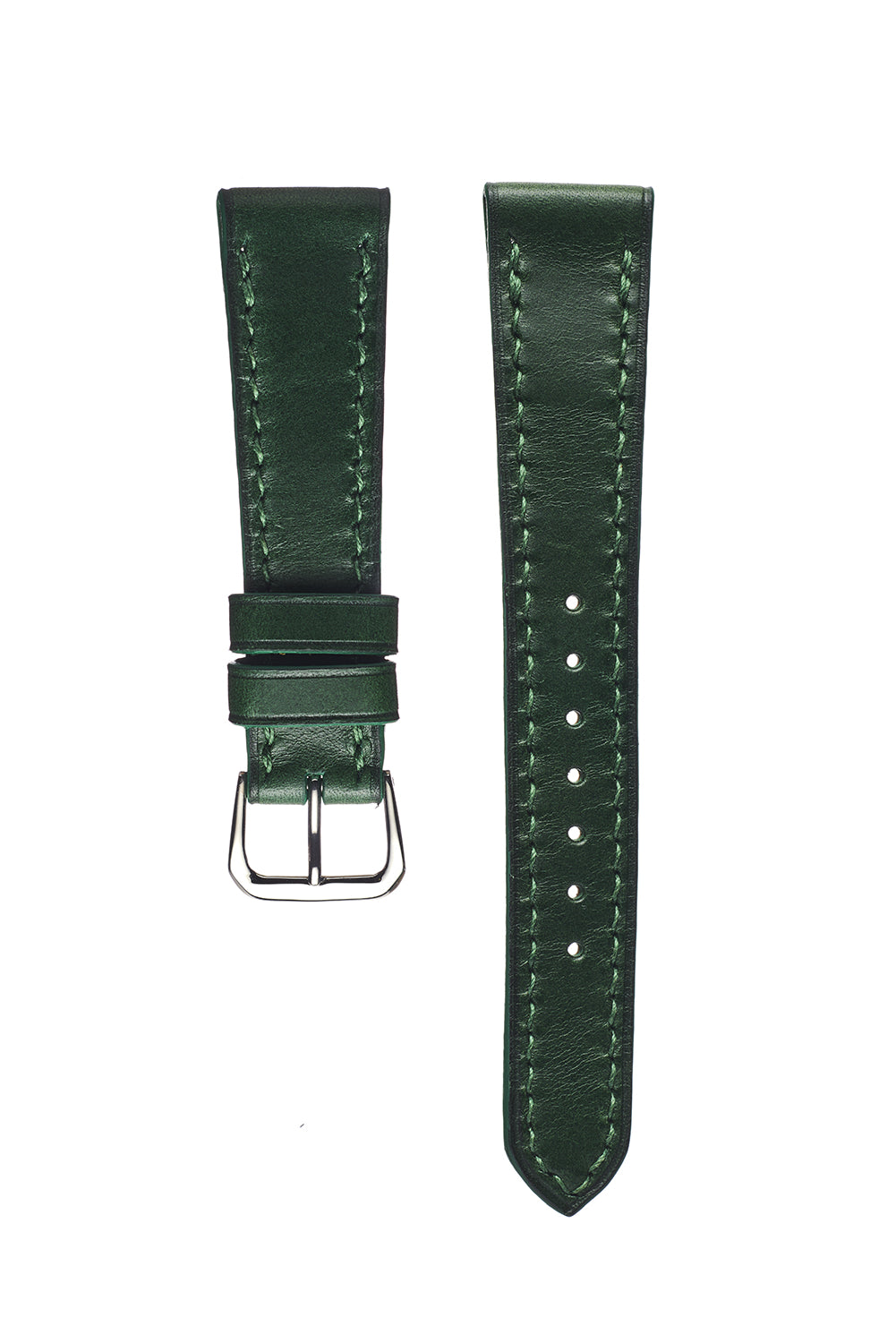 Racing Green Buttero Calfskin Watch Strap - David Lane Design
