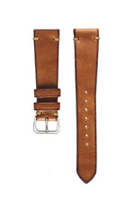 Russet Harness Leather Watch Strap - David Lane Design