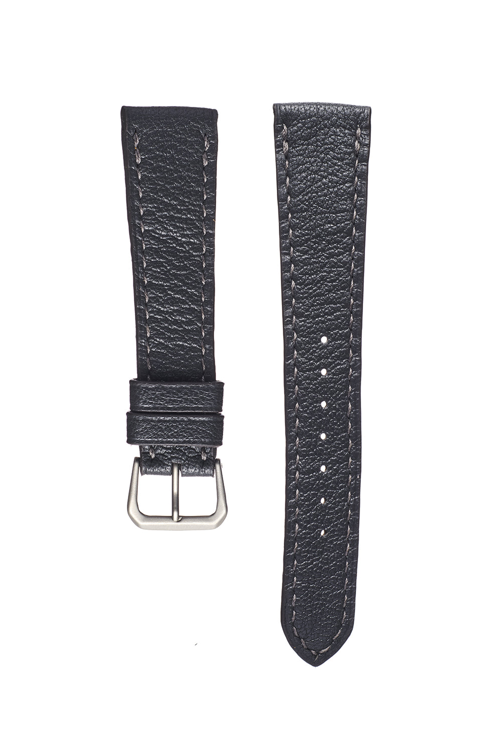 Slate Gray Goatskin Watch Strap - David Lane Design
