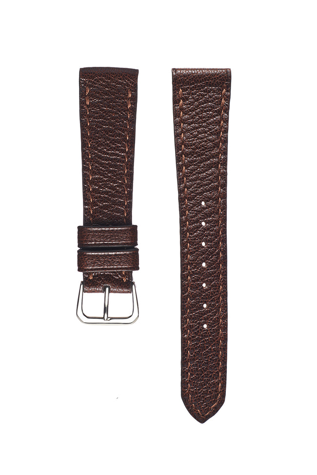 Vintage Brown Goatskin Watch Strap - David Lane Design
