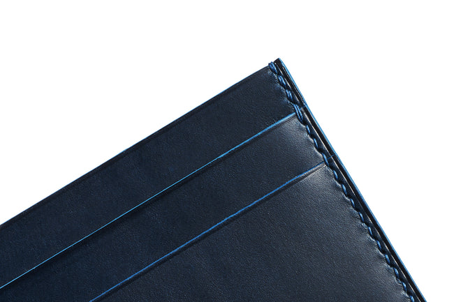 Blue Buttero Slim Card Case - David Lane Design