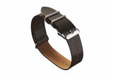 Dark Cognac Horween Shell Cordovan NATO Strap - David Lane Design
