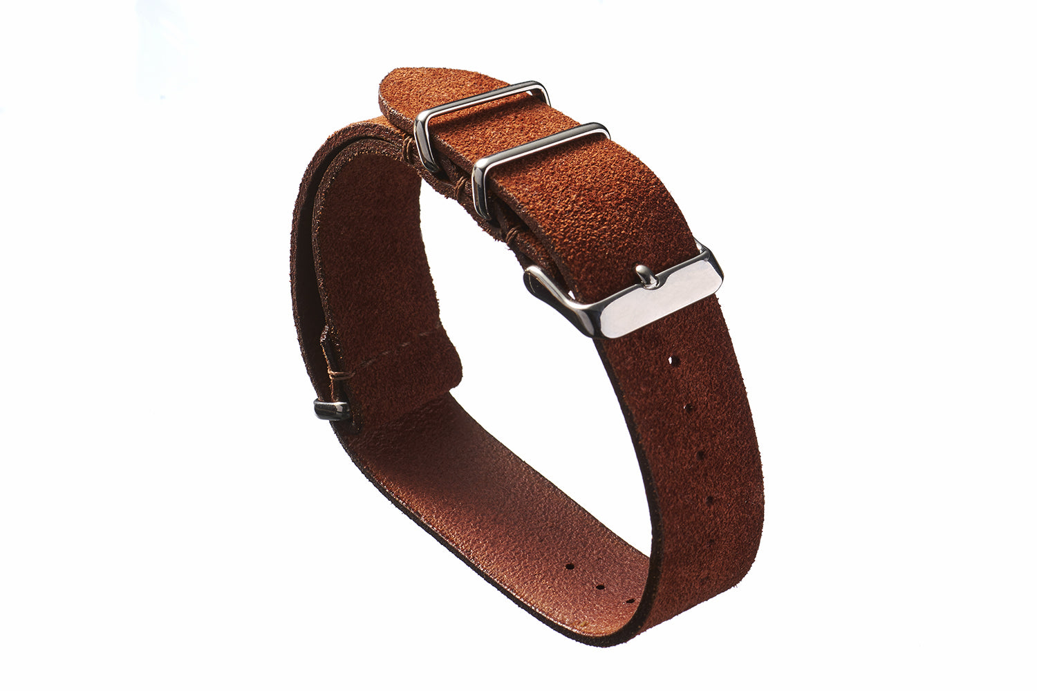 Rust Suede NATO Strap - David Lane Design