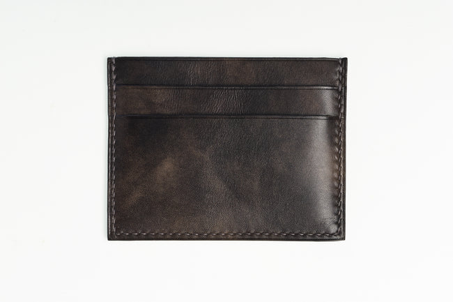 Steel Museum Calf Slim Card Case