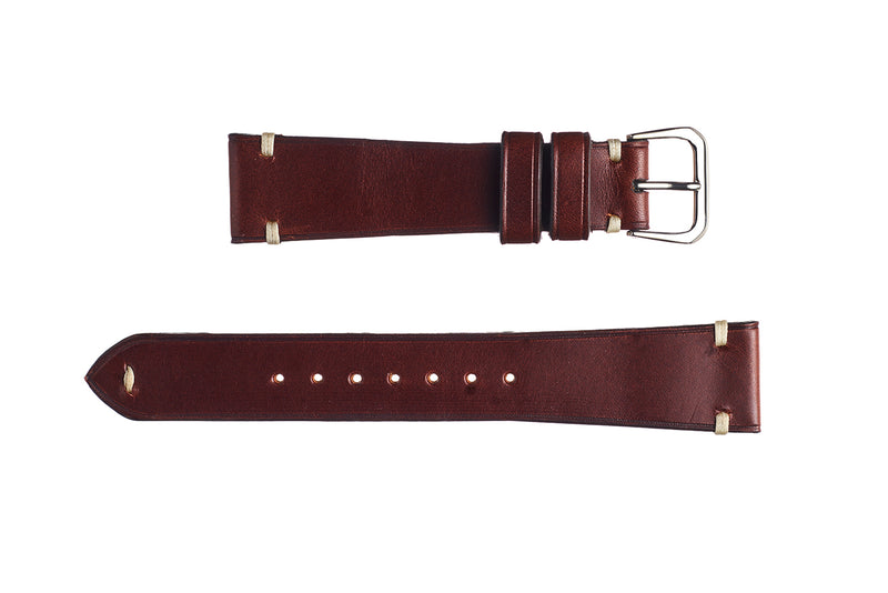 Brown Buttero Calfskin Watch Strap - David Lane Design