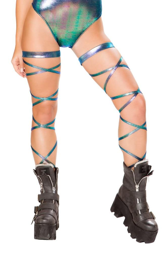 "100"" Leg Strap with Attached Garter"