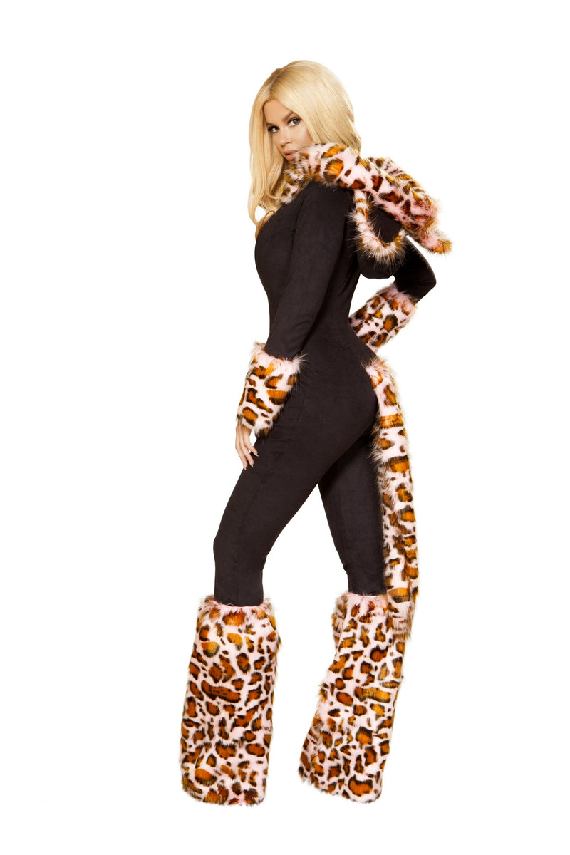 4873 - Roma Costume 1pc The Pink Leopard