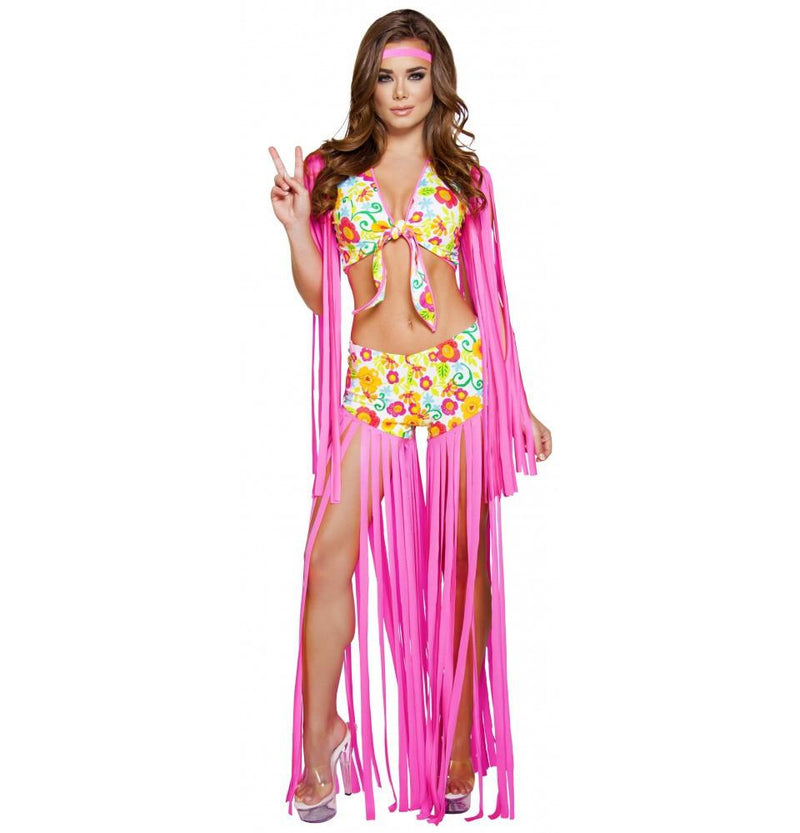 4640 2pc Foxy Flower Child - Roma Costume Costumes,New Products,New Arrivals - 1