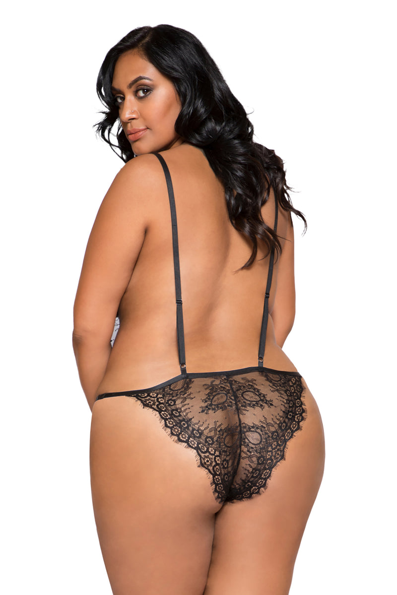 Plus Size Simply Stunning Low Plunge