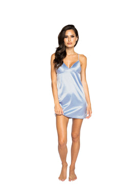 Night Closet Lingerie Soft Satin Chemise