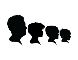 Four Silhouette Group