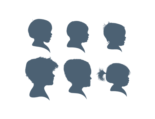 Six Silhouette Group