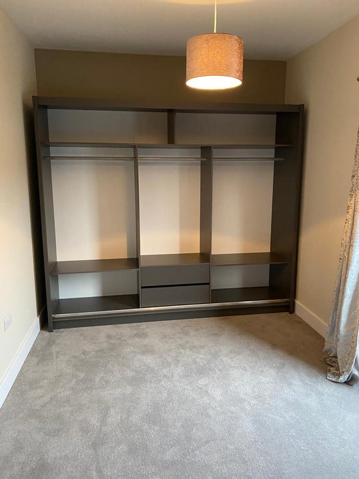 Manhattan Sliding Door Wardrobe (Available in 5 sizes and 3 colours)