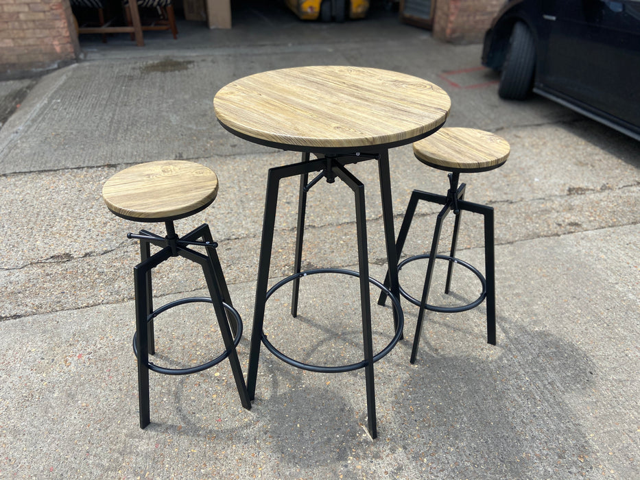 Zana Bar Table and Stool Set