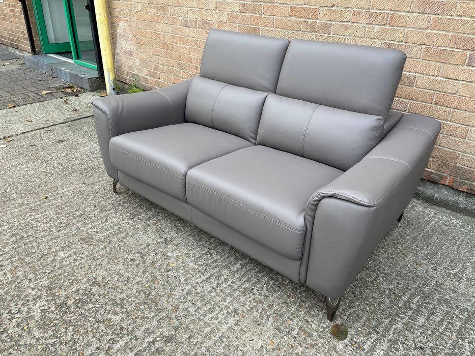 Joseph Genuine Leather Sofa