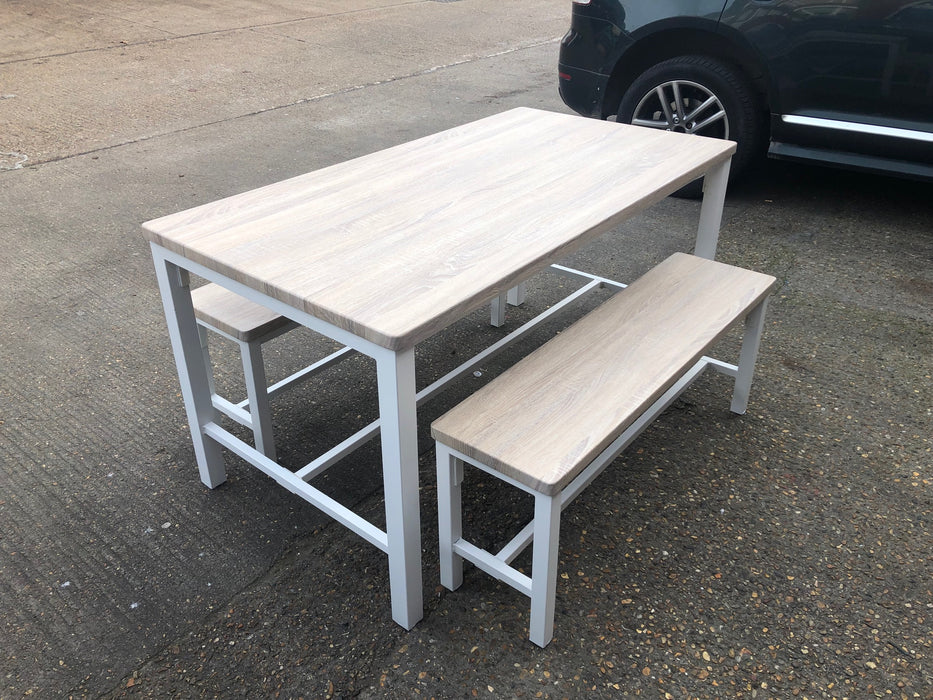 Ellson Bench and Table Set
