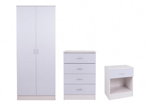 White Gloss Bedroom Set