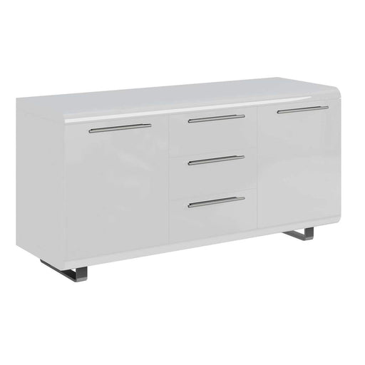 Newline Sideboard 2 Doors 3 Drawers White