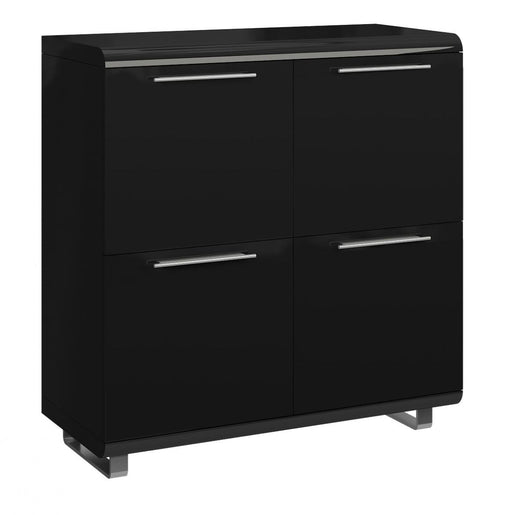 Newline Sideboard 4 Doors Black