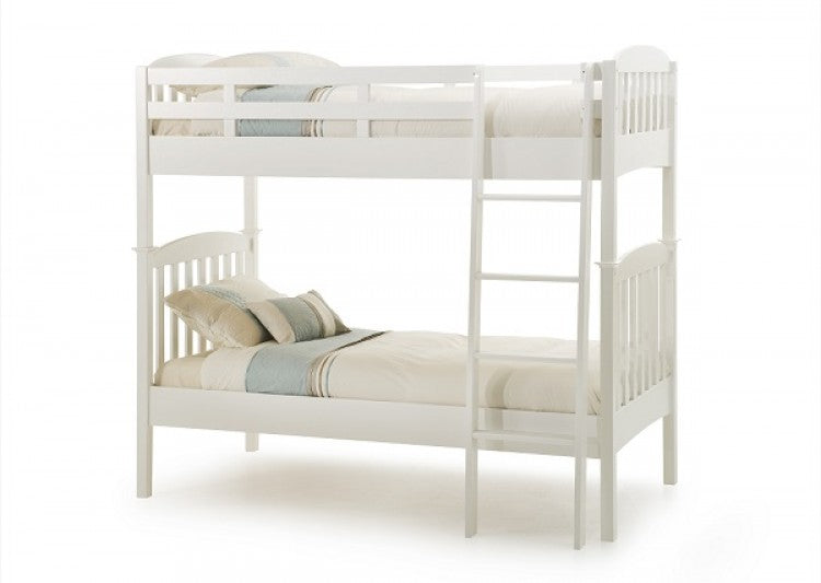 Melissa White Wooden Bunk Bed