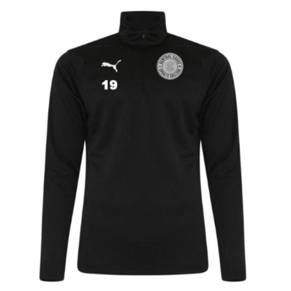 CCSC Puma Liga 1/4 Zip Long Sleeve Top - Students