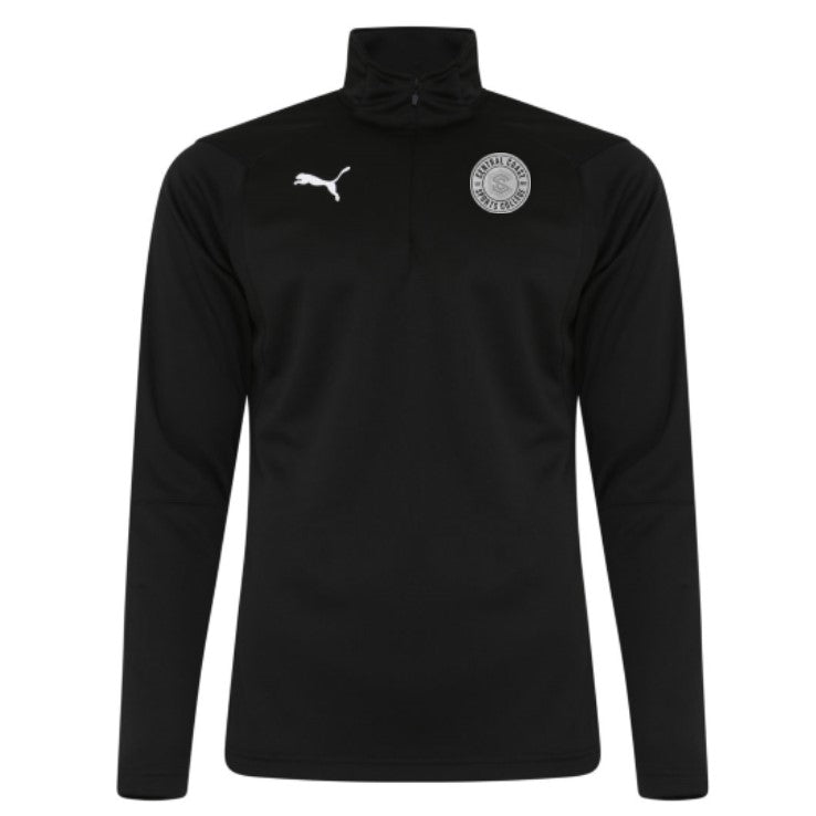 CCSC Puma Liga 1/4 Zip Long Sleeve Top - Family & Friends