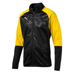 Puma Cup Training Jacket - Black/Yellow